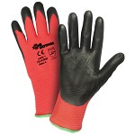 West Chester 701CRNF Zone Defense Nitrile Palm Coated Gloves Size M - 12 pk.